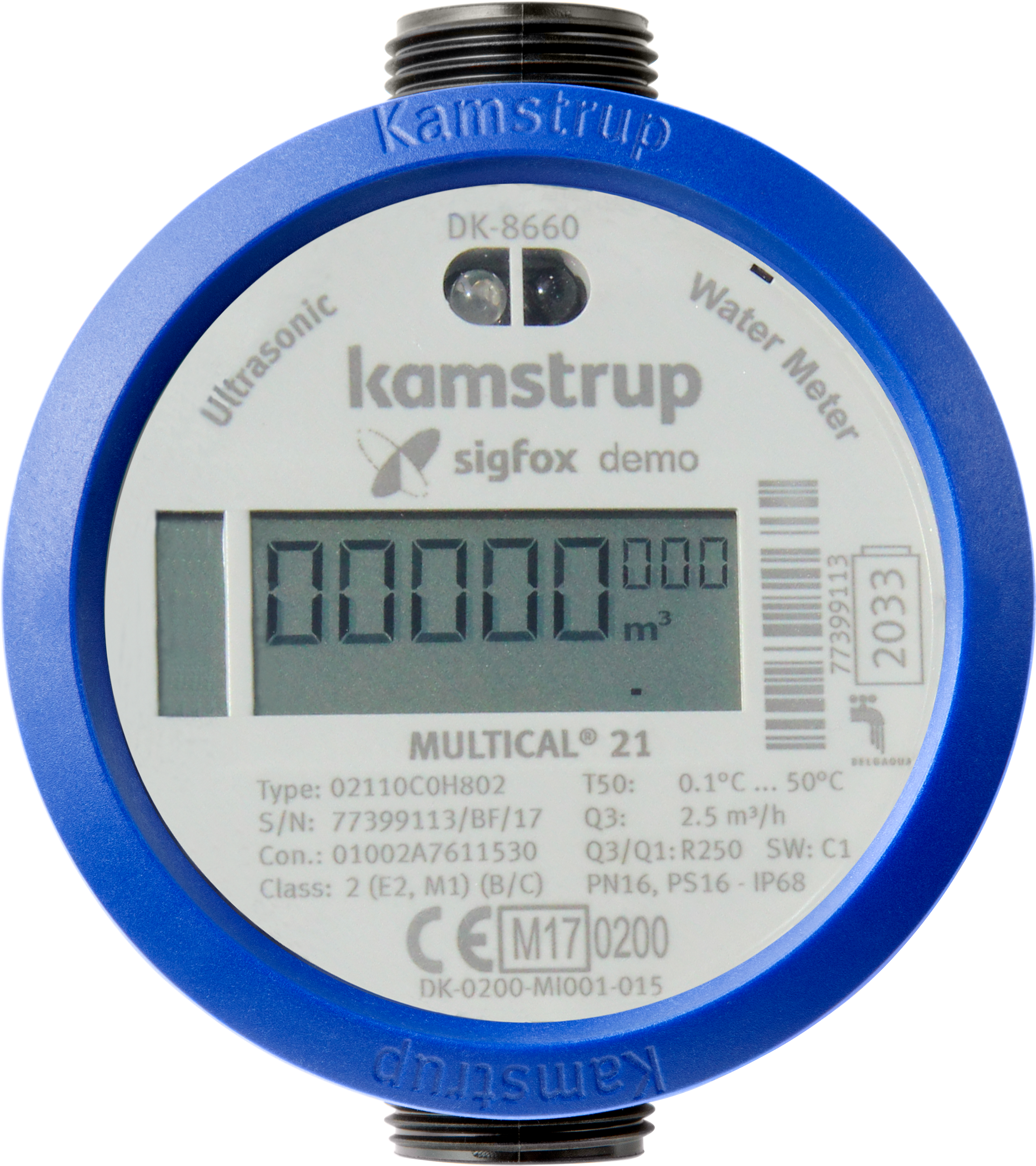 Kamstrup introduces first ever smart water meter with Sigfox ...
