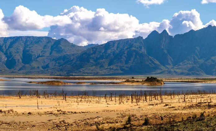 The Theewaterskloof Reservoir, which serves Cape Town. (c) DSPhotographyCPT