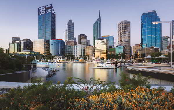 Perth, Western Australia, one of the cities participating in the water sensitive cities project (© Bruce Aspley / iStock)